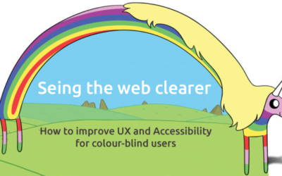Seeing the web clearer, How to improve UX and Accessibility for colour-blind users